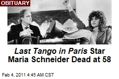 Last Tango in Paris Star Maria Schneider Dead at 58