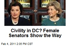 Civility in DC? Female Senators Show the Way
