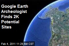 Google Earth Archeologist Finds 2K Potential Sites