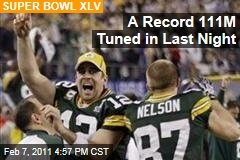 A Record 111M Tuned in Last Night