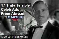 Celebrity Commercials Abroad: 17 of the Funniest Ads From Overseas