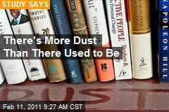 There's More Dust Than There Used to Be