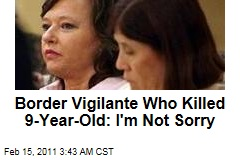 Minutemom Who Killed Latina, 9: Parents Shouldn't Sell Drugs