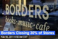Border Files for Bankruptcy Protection, Will Close 30% of Its Stores