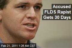 Accused FDLS Rapist Gets 30 Days