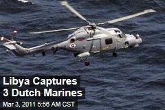 Dutch Marines Captured in Libyan Raid