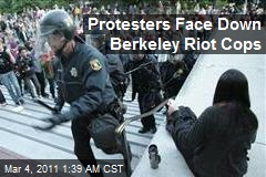 Protesters Face Down Berkeley Riot Cops