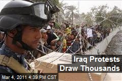 Iraq Protests Draw Thousands