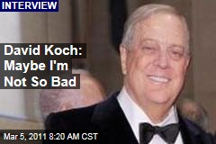 David Koch: Billionaire Gives Rare Interview at Cancer Center Opening