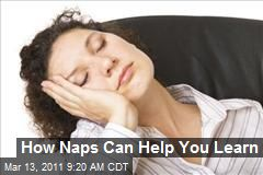 How Naps Can Help You Learn