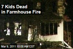 Pennsylvania House Fire Kills Seven Kids
