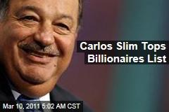 Carlos Slim Tops Forbes Billionaires List