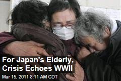 Tsunami Destruction Echoes World War II for Japan's Elderly