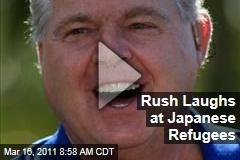 Rush Limbaugh Laughs at Japanese Earthquake, Tsunami Refugees
