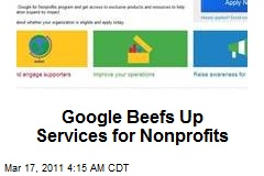 Google Beefs Up Services for Nonprofits