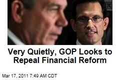 Financial Reform: