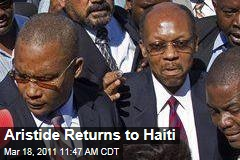 Jean-Bertrand Aristide Returns to Haiti After Seven-Year Exile