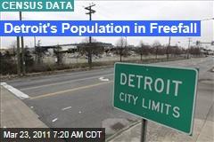 Detroit Census Data: City Has Lost 25% of Population Over Last Decade