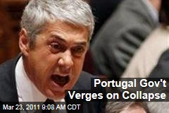 Portugal Government Verges on Collapse