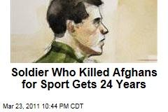 Jeremy Morlock Sentenced to 24 Years for Afghan 'Kill Team' Murder