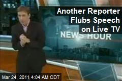 2nd Reporter OK After On-Air Gibberish