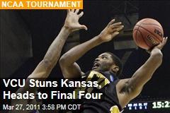 Final Four: Virginia Commonwealth Stuns Kansas in NCAA Tournament