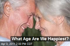 What Age Are We Happiest?