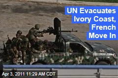 Ivory Coast: UN Evacuates as French Troops Capture Abidjan Airport