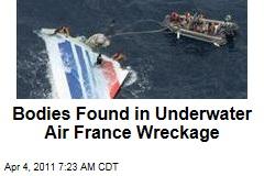 Bodies Found in Underwater Air France Wreckage