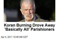 Terry Jones: Koran Burning Drove Away 'Basically All' Parishioners