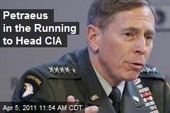 Petraeus in the Running to Head CIA
