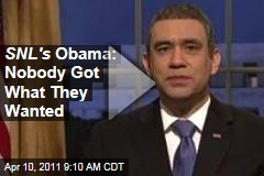Saturday Night Light: Fred Armisen's Obama on Budget Deal Says Everybody's Miserable