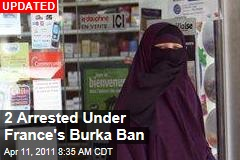 Burka Ban Begins Today in France