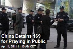 China Detains 169 Congregants of Protestant Church Shouwang for Praying in Public