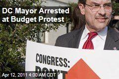 DC Mayor Vincent Gray Arrested During Budget Protest
