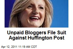 Unpaid Bloggers File Suit Against Huffington Post