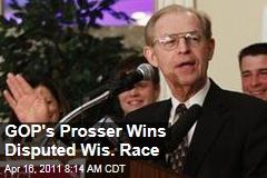 David Prosser Wins Wisconsin Supreme Court Race; JoAnne Kloppenburg May Demand Recount