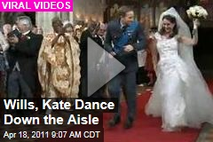 Prince William, Kate Middleton Dance Down the Aisle in T-Mobile's Royal Wedding-Inspired Ad