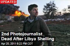 Chris Hondros, Tim Hetherington Killed in Misrata Shelling
