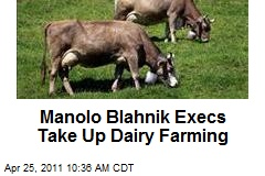 Manolo Blahnik Execs Take Up Dairy Farming