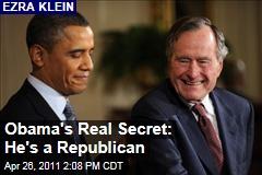 Ezra Klein: Obama's a Republican
