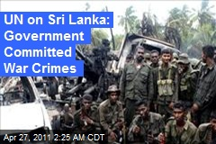 UN Wants War Crimes Probe in '09 Sri Lanka Slaughter