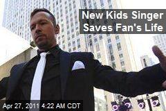 New Kids Singer Finds New Kidney for Fan