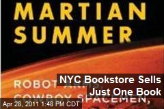 NYC Bookstore Sells Just One Book