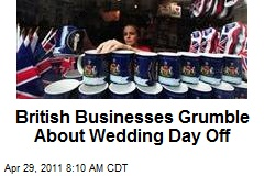 British Businesses Grumble About Wedding Day Off