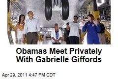 President Obama, First Lady Meet With Gabrielle Giffords for 10 Minutes