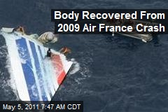 Body Recovered From 2009 Air France Crash