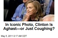 In Iconic White House Situation Room Photo From Osama bin Laden Raid, Is Hillary Clinton Shocked or Just Coughing?