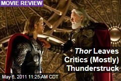 Thor Movie Reviews: Most Critics Like it, But Not AO Scott