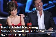 Paula Abdul Rejoins Simon Cowell as Judge on His New Reality Show, X Factor